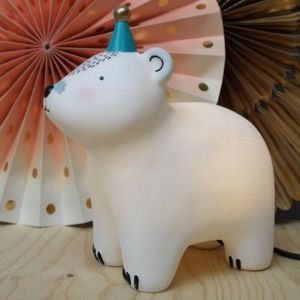 Party Bear Bedside Light