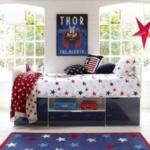 Southside Cabin Bed - Blue