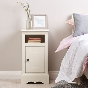 Sweetheart Children's Bedside Cabinet - Antique White