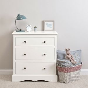 Sweetheart Children's Chest Of Drawers - Silk White