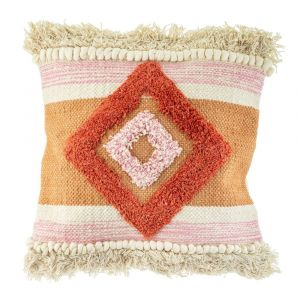 Tufted Diamond Cushion