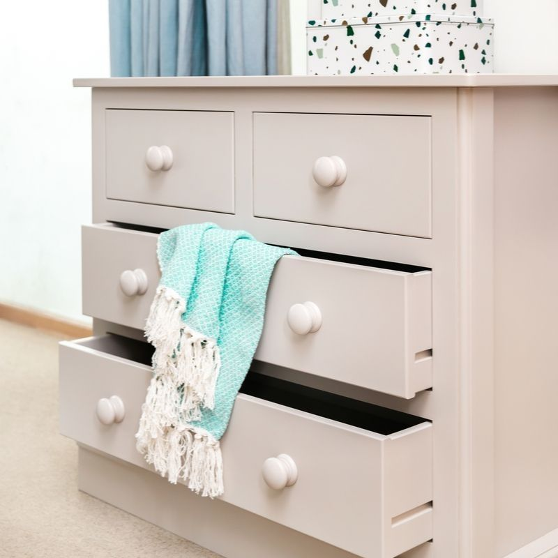 Charterhouse 2+2 Children's Chest Of Drawers - Taupe