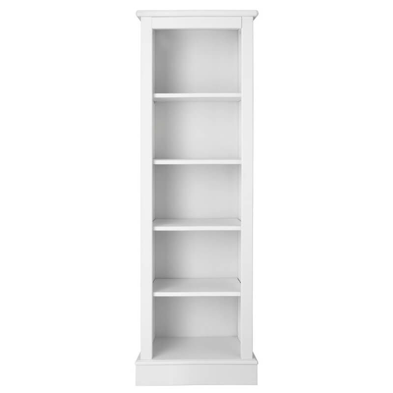 Milne Narrow Child's Bookcase - Silk White