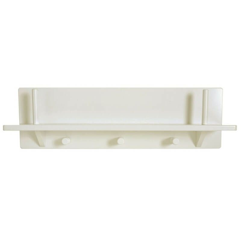 Child's Peg Shelf - Antique White