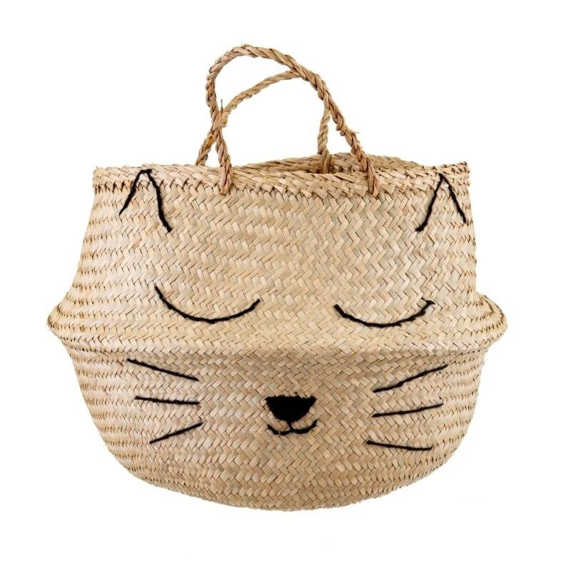 Cat's Whiskers Storage Basket
