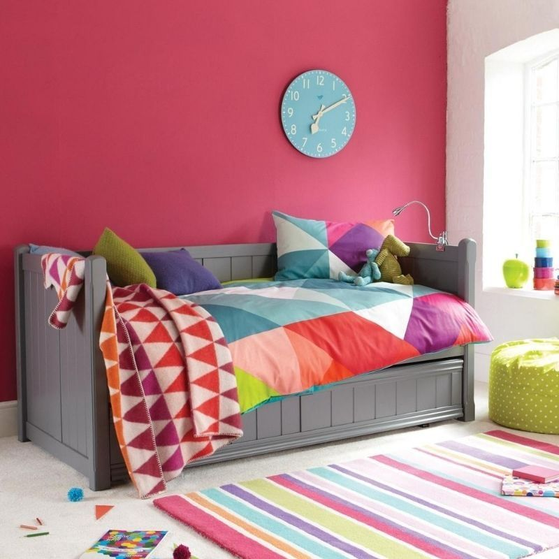 Charterhouse Daybed With Trundle - Dark Grey