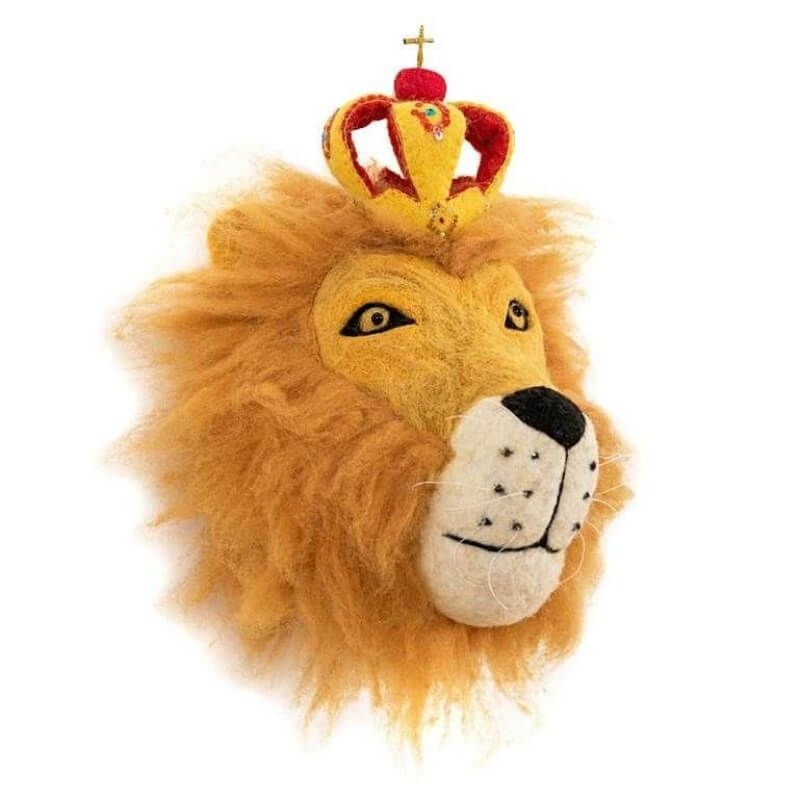 King Leopold Lion Head