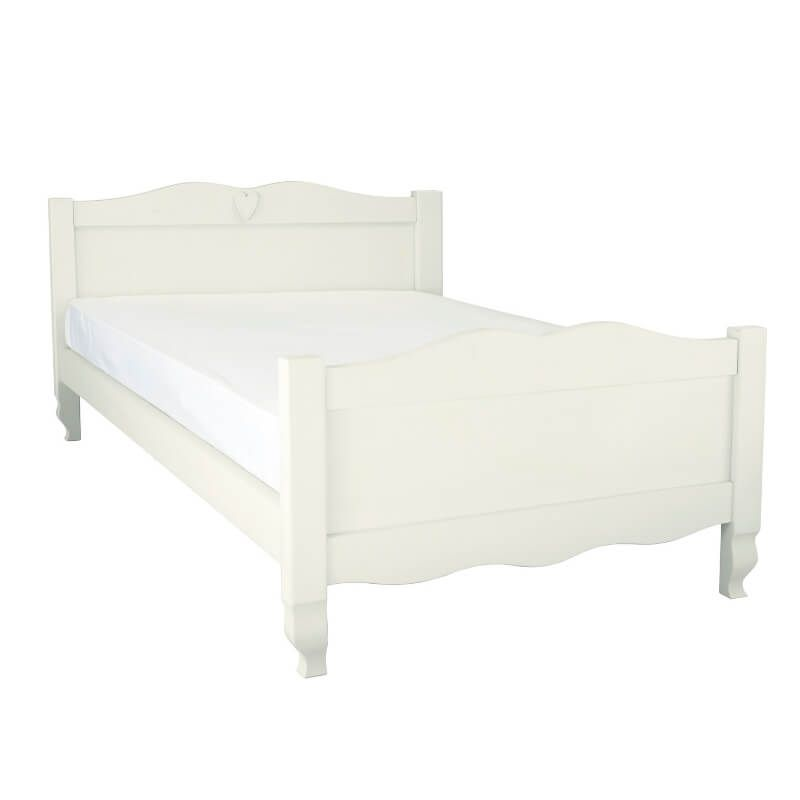 Sweetheart Children's Double Bed - Silk White