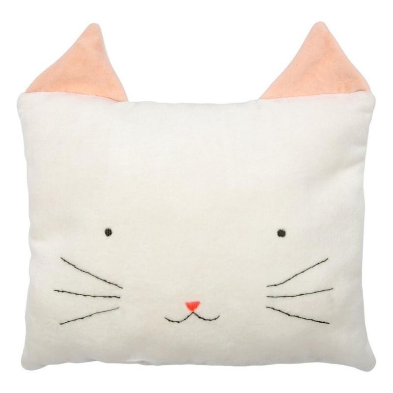 Velvet Cat Cushion