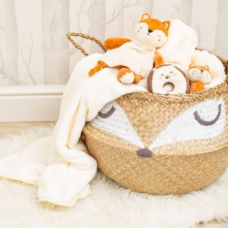 Woodland Fox Storage Basket