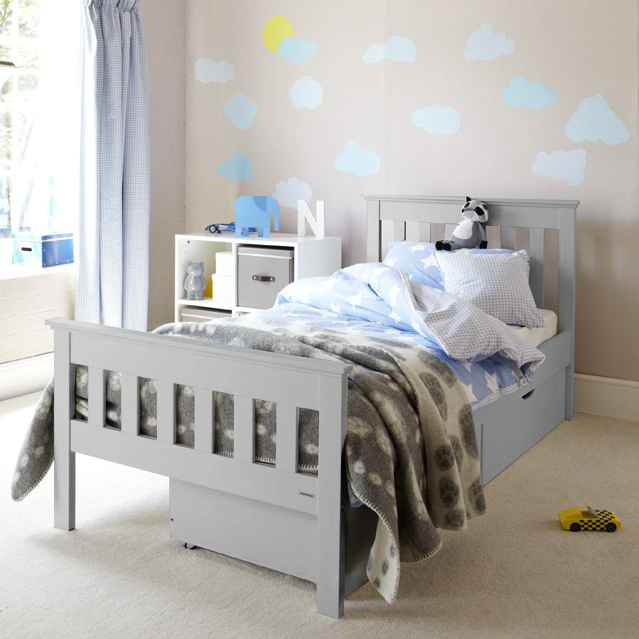 Oundle Bed - Light Grey