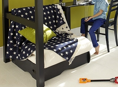 Fabulous fold away futon