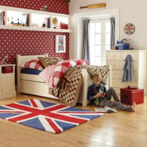 Charterhouse Sleepover Bed Antique White