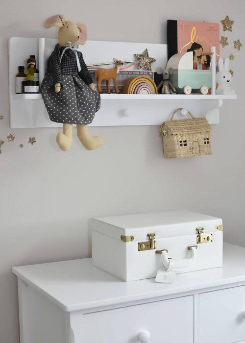 Children's Peg Shelf